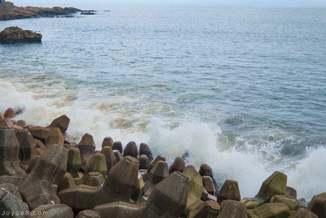 九份旅遊景點,九份陰陽海,水湳洞陰陽海,金瓜石景點,陰陽海,陰陽海交通,陰陽海停車場,陰陽海怎麼去, 陰陽海成因