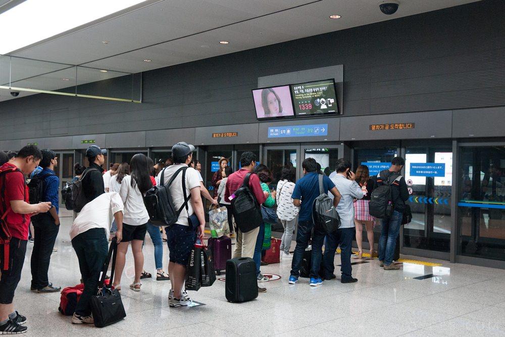 仁川機場電車,仁川機場入境,仁川機場入境流程,仁川機場出入境,韓國仁川機場入境