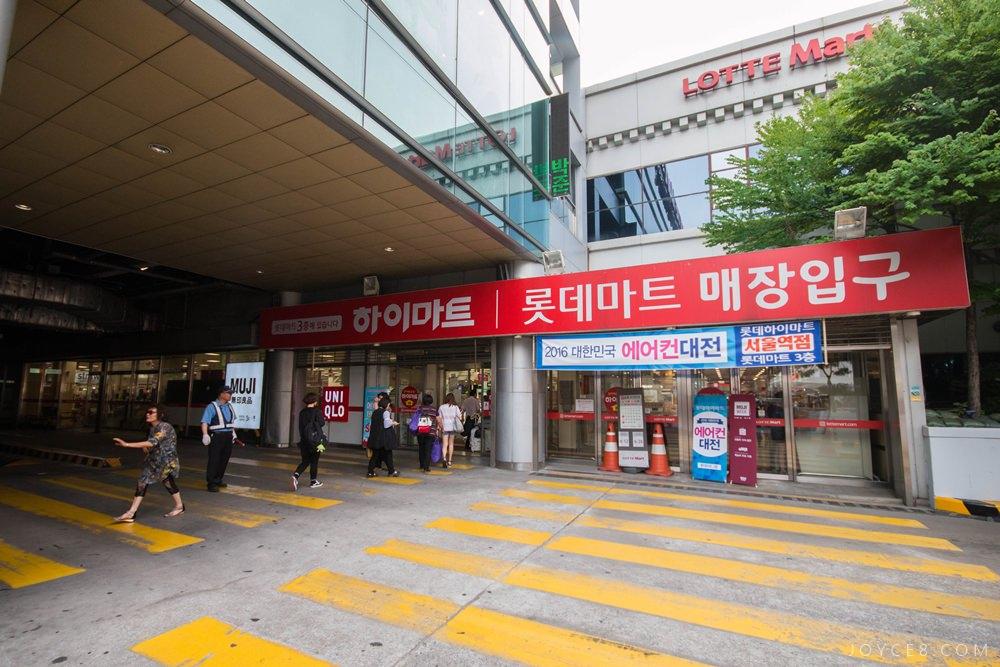 韓國樂天超市,樂天超市交通,首爾樂天超市交通