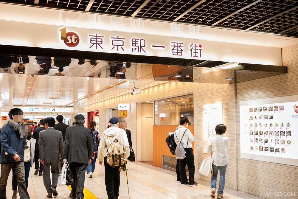 東京車站一番街,東京車站一番街地圖,東京車站一番街怎麼去,東京車站一番街蛋黃哥