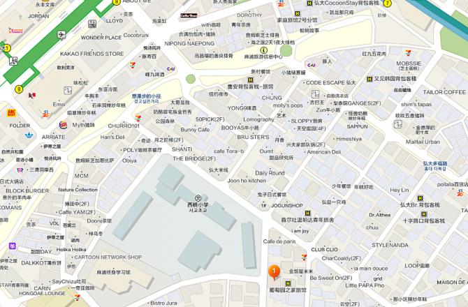 弘大入口站住宿:弘大家big民宿.中文也OK!舒適大空間的合法公寓民宿