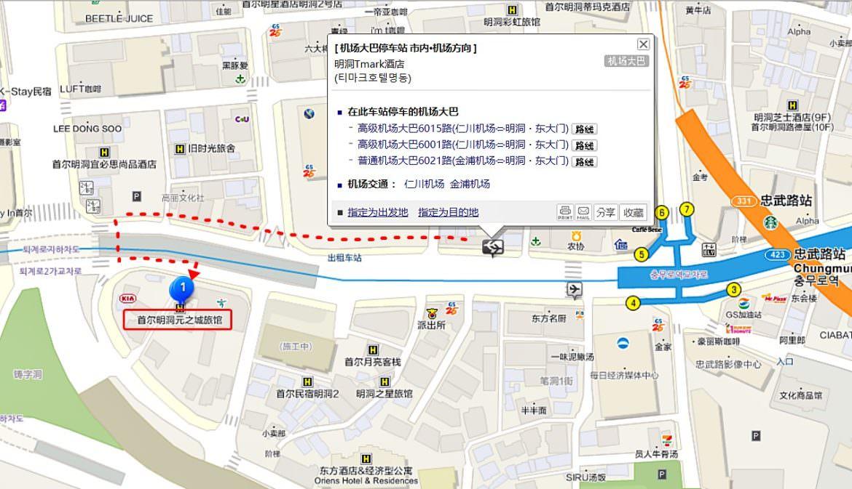 明洞住宿:Wons Ville Myeongdong 單人房超推薦!乾淨平價、有獨立衛浴