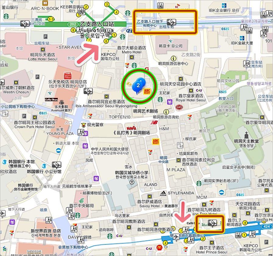 明洞住宿飯店:明洞28飯店,電影院主題設計 Hotel 28 Myeongdong