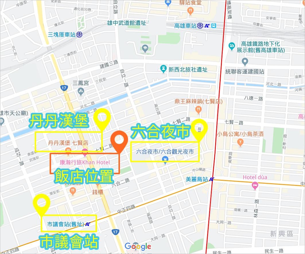 康瀚行旅交通方式,康瀚行旅地圖,康瀚行旅路線圖