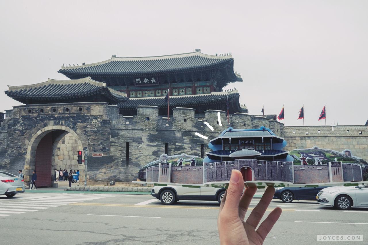 水原華城長安門,水原華城,京畿道水原華城,世界遺產水原華城