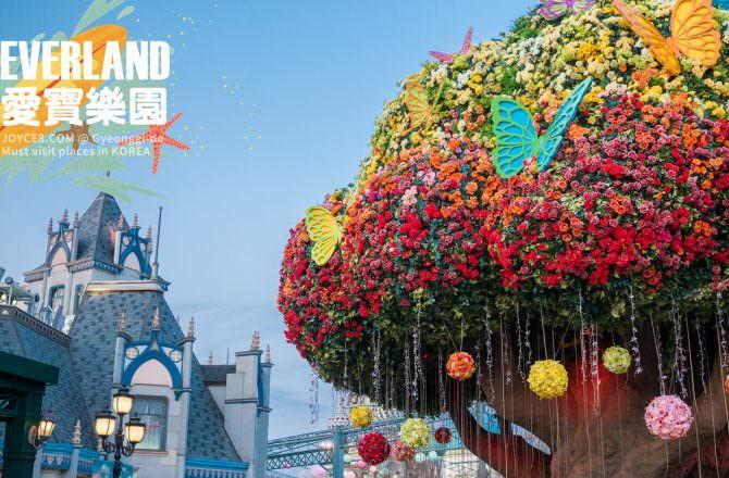 京畿道:愛寶樂園遊記 Everland 超刺激雲霄飛車、歡樂遊行一整天