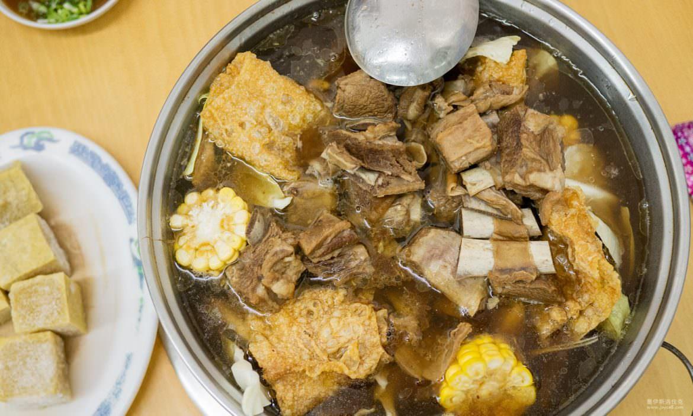 枋寮美食:水底寮華珍羊肉,湯頭清甜好喝的排骨羊肉爐