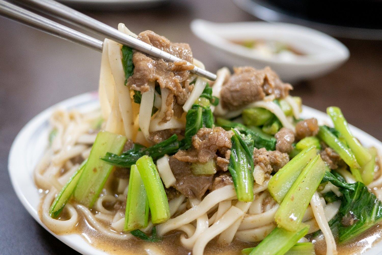 羊肉炒麵2