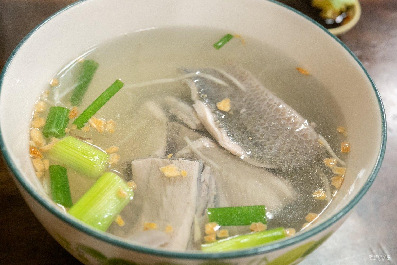 濃濃香鱔魚麵,魚片湯