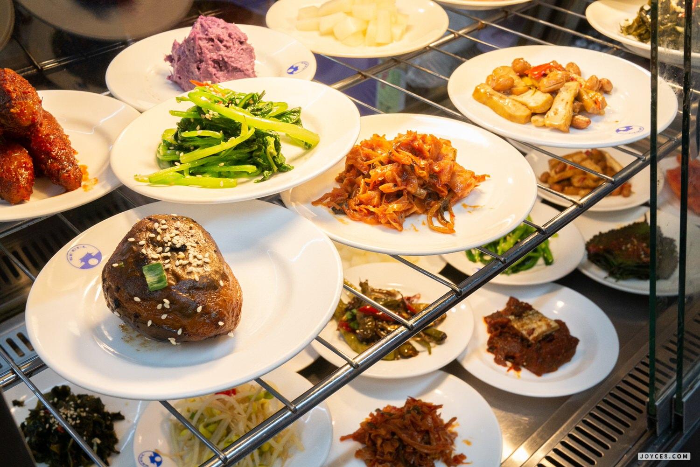 韓宮麵小菜