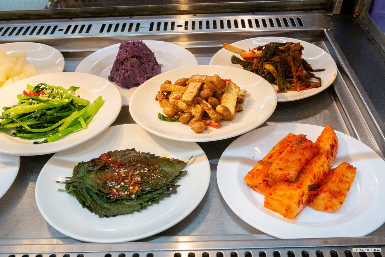 韓宮麵小菜2